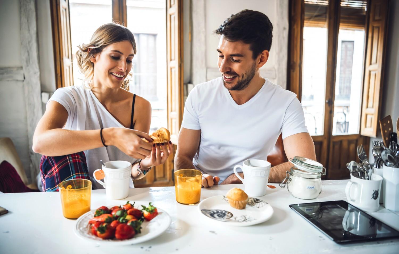 Image result for eating breakfast